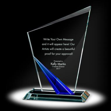 Spire Torch Crystal Award