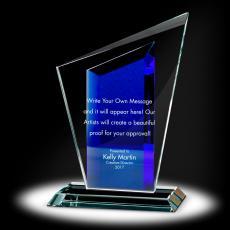 Trophy Awards - Peak Torch Crystal Award