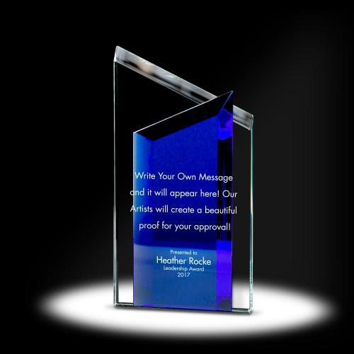 Double Peak Crystal Award