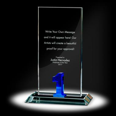 Years of Service Tower Crystal Award