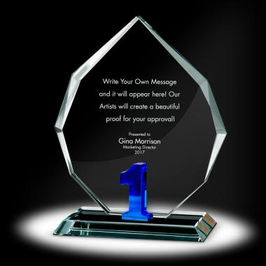 Years of Service Radiant Crystal Award