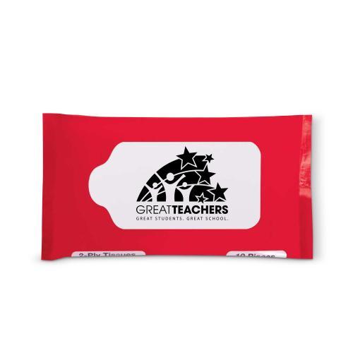 Great Teachers Travel Tissue Pack