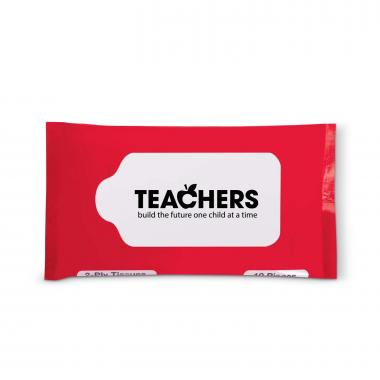 Teachers Build Futures Travel Tissue Pack
