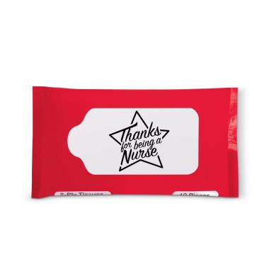 Thanks Nurse Star Travel Tissue Pack
