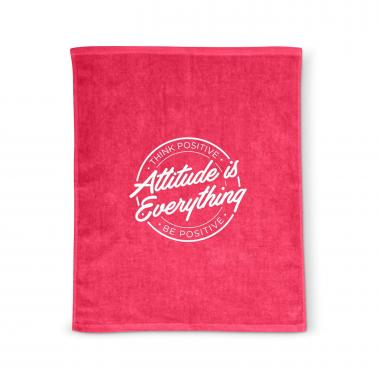 Attitude is Everything Rally Towel