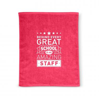 Behind Every Great School Rally Towel
