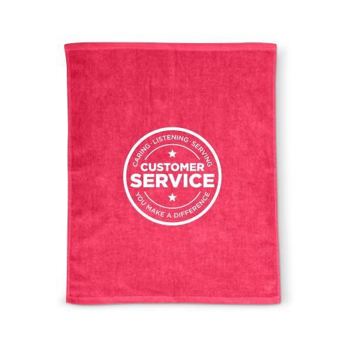 Customer Service Rally Towel