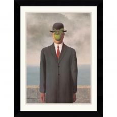 Rene Magritte Le Fils de l'Homme (Son of Man), 1964 Office Art