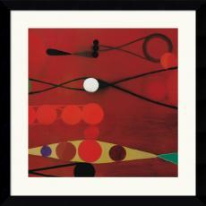 Bill Mead Red Seed #34 Office Art
