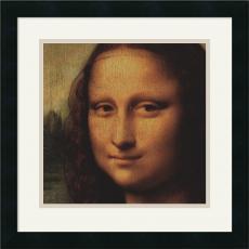 Leonardo da Vinci Mona Lisa (Detail) Office Art