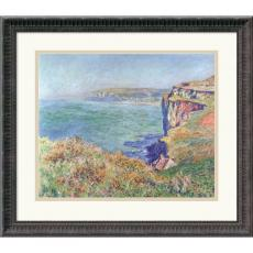 Claude Monet La Falaise a Varengeville (The Cliffs at Varengeville) Office Art