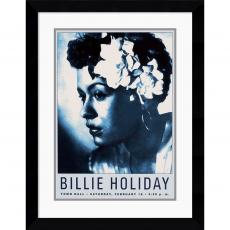 Billie Holiday: Town Hall NYC, 1946 Office Art