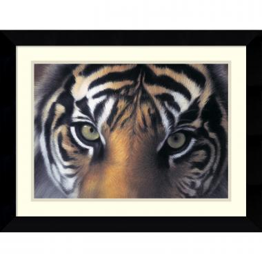 Charles Alexander Eyes of the Goddess: Sumatran Tigress Office Art