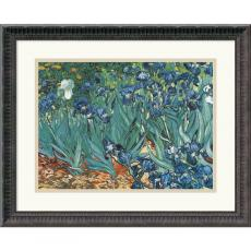 Vincent van Gogh Irises In The Garden Office Art