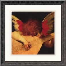 Rosso Fiorentino Musical Angel Office Art
