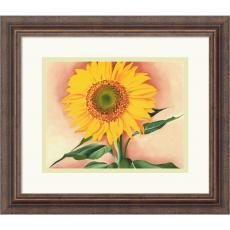 Georgia O'Keeffe A Sunflower from Maggie, 1937 Office Art