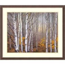 Charles Cramer Aspen in Fog Office Art