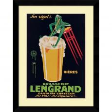 G. Piana Lengrand Brewery Office Art