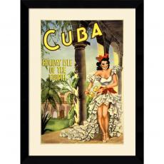 Cuba, Holiday Isle of the Tropics Office Art
