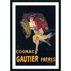 Cognac Gautier Freres Office Art