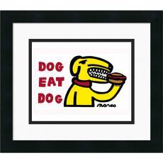 Peter Marco Dog Eat Dog Office Art