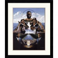 Edward Clay Wright Martin Luther King Office Art