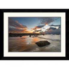 Robert Strachan Sailcoats Sunset Office Art