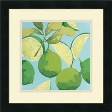 Martha Negley Fresh Limes Office Art
