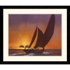 Diane Romanello Sails in the Sunset Office Art
