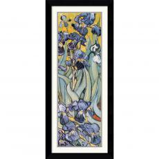 Vincent van Gogh Iris Garden (Detail) Office Art