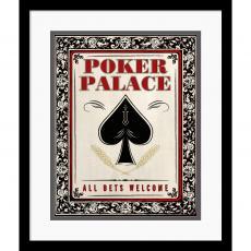 Poker Palace Office Art