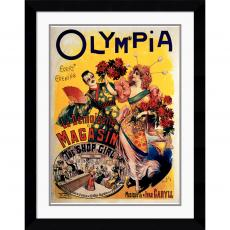 L. Galice Olympia 1895 Office Art