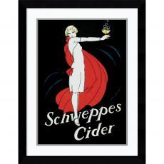 Schweppes Cider Office Art