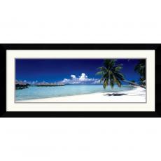 Tropical Beach (Panel) Office Art