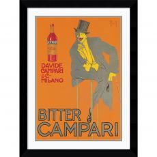 Bitter Campari Office Art