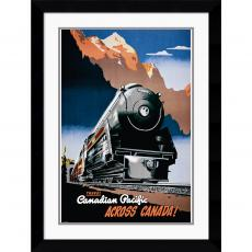 Canadian Pacific across Canada, 1930 Office Art