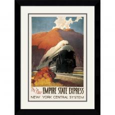 Leslie Ragan Empire State Express Office Art