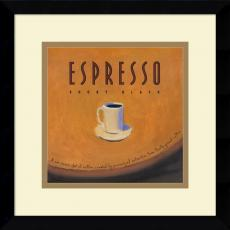 Jillian David Design Espresso Office Art