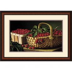 L.W. Prentice Still Life with Berries Office Art