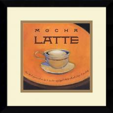 Jillian David Design Mocha Latte Office Art