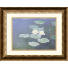 Claude Monet Nympheas Effet Du Soir (Water Lilies in the Evening) Office Art