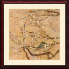 Jill Barton Birds and Blossoms II Office Art