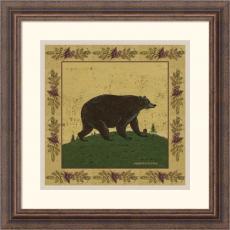 Warren Kimble Folk Bear Office Art