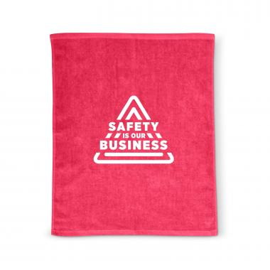 Safety is Our Business Rally Towel
