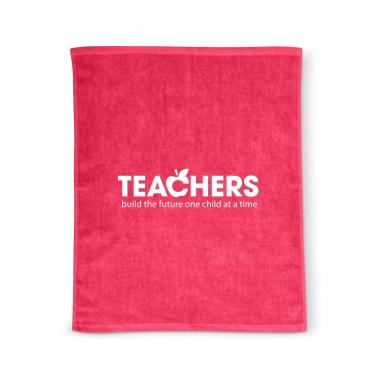 Teachers Build Futures Rally Towel