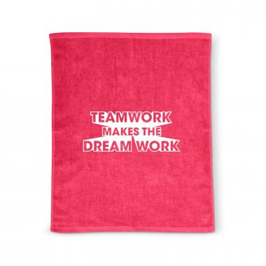 Teamwork Dream Work Rally Towel