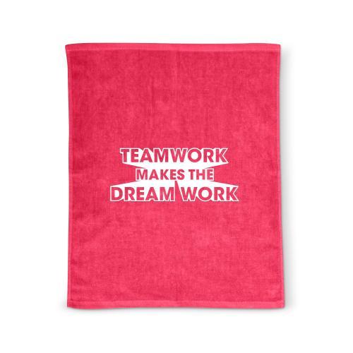 Teamwork Dream Work Rally Towel