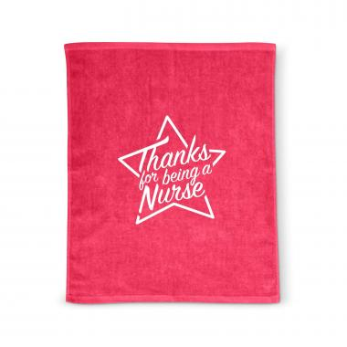 Thanks Nurse Star Rally Towel