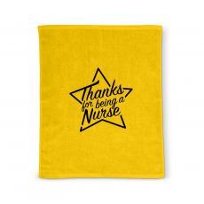 Nurses Gifts - Thanks Nurse Star Rally Towel