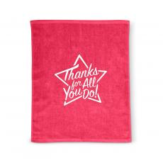 Staff Appreciation - Thanks for All You Do Star Rally Towel